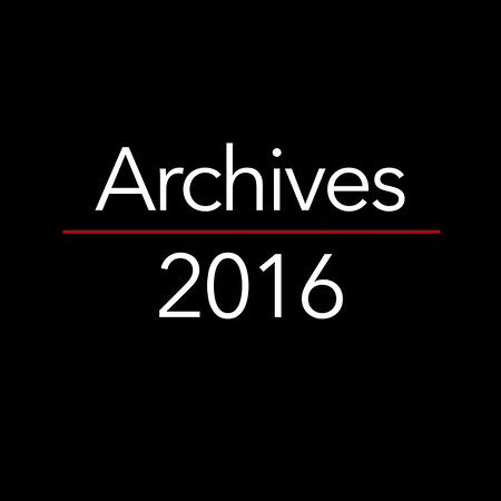 2016 - Archive