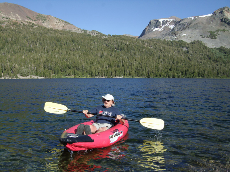 On Tioga Lake (2.938m or 9,638ft)