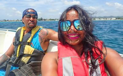 2017 - Jamaica - Parasailing