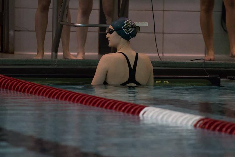 Men and Women Swimming at SLU 10-31-15