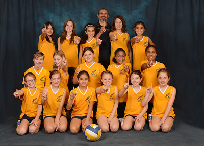 5th Grade Volleyball Team 2013-2014