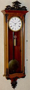 VR-310 - Beidermeier period week-running Viennese 3-lite timepiece by Adolf ____ in Wien