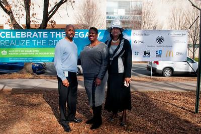 Carolinas HealthCare System Martin Luther King, Jr. Memorial Service @ Marshall Park 1-15-17 by Jon Strayhorn