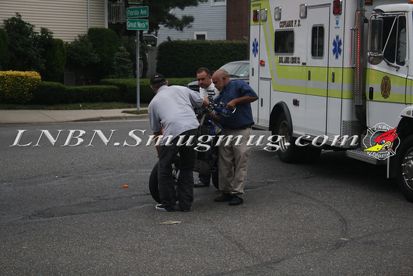 Copiague F.D. Dirt Bike Down - Great Neck Rd. & Florida Ave. - 9-4-11