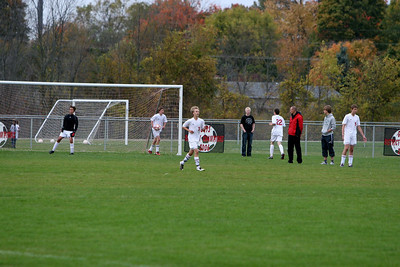 Boys Varsity Soccer - 2010-2011 - 10/6/2010 Grant