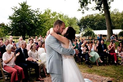 Huwelijk Anneleen en Thomas