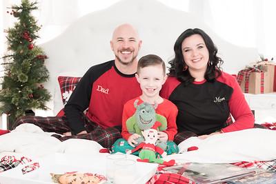 Mayhew Family Christmas PJs session