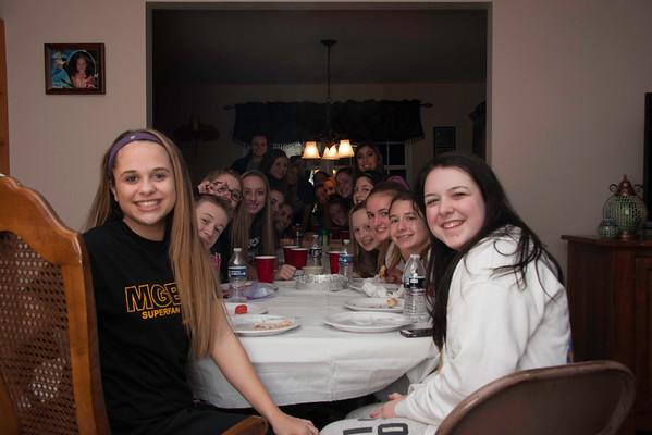 Seniors 1/15 Pasta Party