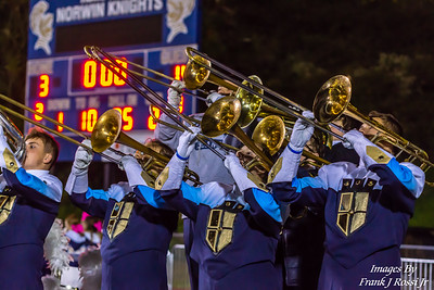 10-18-2019 Norwin Band Before Halftime