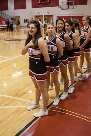2012 Cheerleading at Basketball