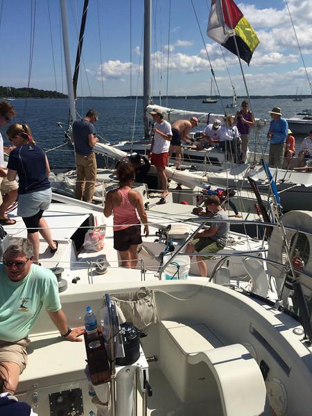 5/24 Open House Regatta raft up