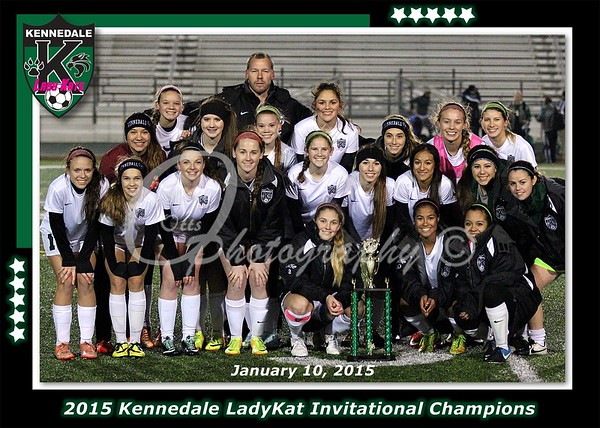 Kennedale LadyKat Soccer Tournament 2015