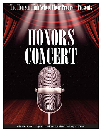 Honors Concert - 2016