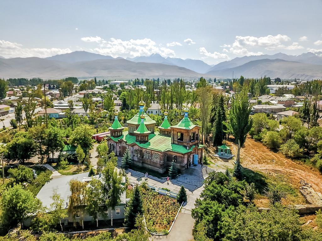 Kyrgyzstan Photos: Holy Trinity Russian Orthodox Cathedral Karakol