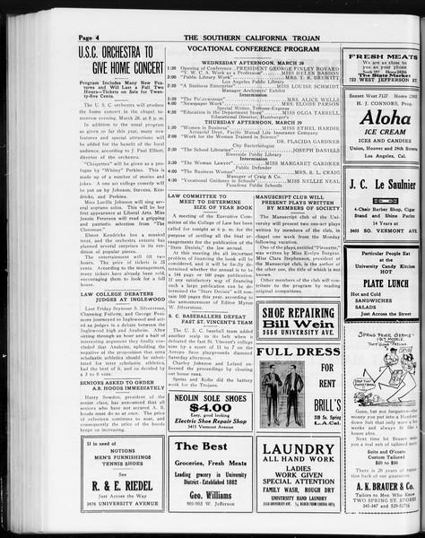 The Southern California Trojan, Vol. 8, No. 88, March 27, 1917