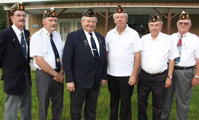 Installation of American Legion Officers, 6 Groups, American Legion, Weatherly (8-21-2013)