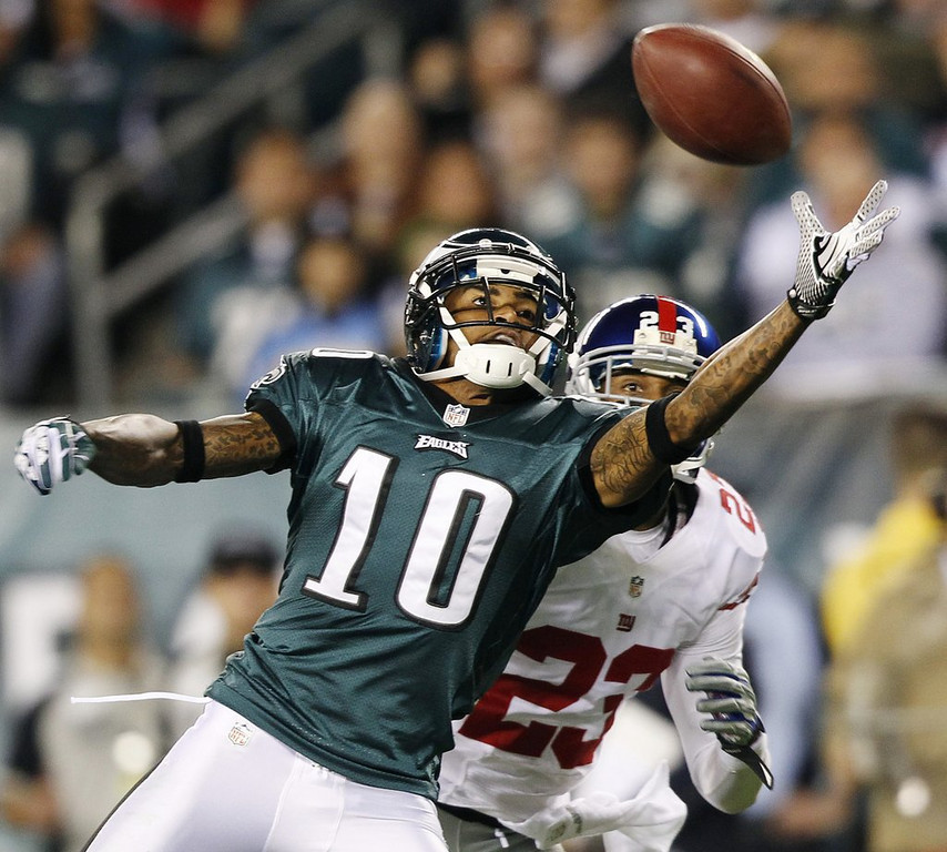 """. <p>1. DESEAN JACKSON <p>Alleged gang ties almost as troubling to Eagles as his $10 million-plus contract. (unranked) <p><b><a href=\'http://www.nj.com/eagles/index.ssf/2014/03/eagles_desean_jackson_off-the-field_troubles.html\' target=\""""_blank\""""> HUH?</a></b> <p>   <p>OTHERS RECEIVING VOTES <p> Glen Taylor, Chris Christie, Michigan State Spartans & Michigan Wolverines, Lululemon, St. Cloud State Huskies, Maurice Jones-Drew, Ratzilla, Facebook drones, Minnesota Orchestra, Times New Roman, Houston Texans, Tina Fey, Piers Morgan, Miguel Cabrera & Mike Trout, Kevin Ware, Wisconsin hockey, Mark Dayton, Johnny Manziel, Gwyneth Paltrow,  Sid Hartman, Bit-O-Honey, Secret Service, National Invitation Tournament. <p> <br><p> You can follow Kevin Cusick at <a href=\'http://twitter.com/theloopnow\'>twitter.com/theloopnow</a>.   (AP Photo/Mel Evans, File)"""