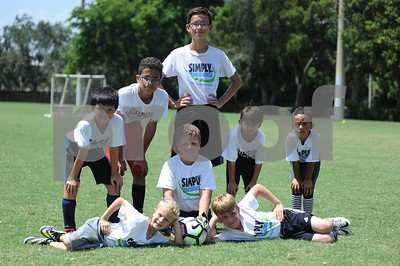 Simply Soccer Summer 2017 Camp Week 7