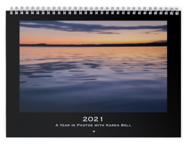 "2021 Wall Calendar ""Painterly"" Images"