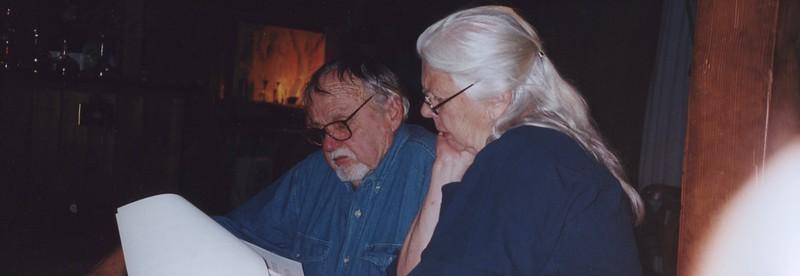 1997 - Oakley & Barbara Hall reading.jpeg