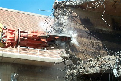 NPK M38G concrete pulverizer on Cat excavator-commercial demolition (3).jpg