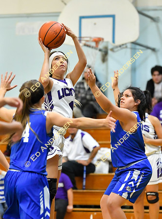 November 30, 2018; Serpent Classic, Smith Valley vs. Yerington, Girls Basketball