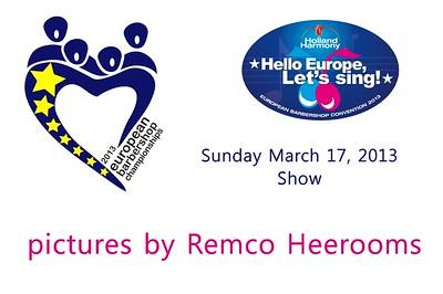 2013-0317 EBC2013 Sunday Show