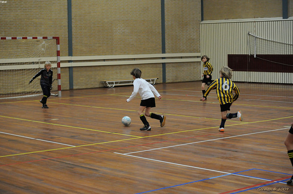 17 01 2009 E-Mixed Zaalvoetbal Tournooi