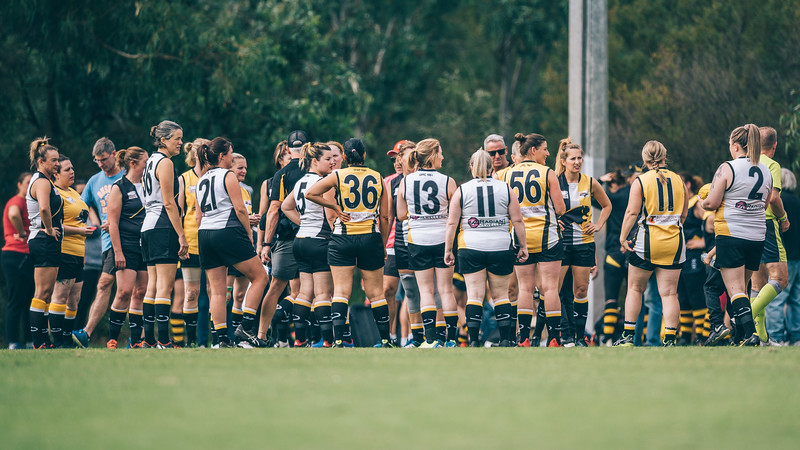 Chirnside Park v Box Hills North - 2019 Women's AFL Masters Victoria Round 1 Game 2