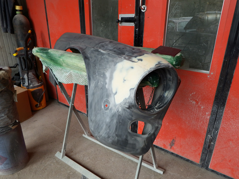 A new old stock wing has been found with just a few minor dents and NO rust!