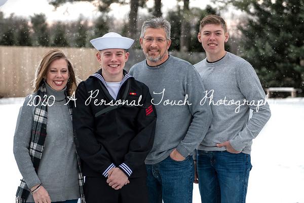 Cutshall family Christmas 2020