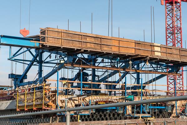 Seattle 520 Bridge construction 2014