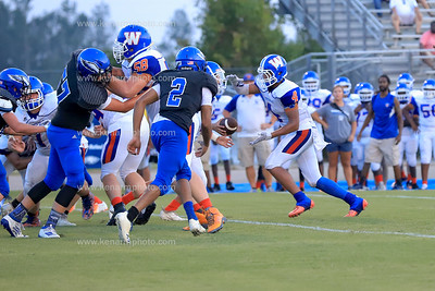 East Bladen 19 Whiteville jv football