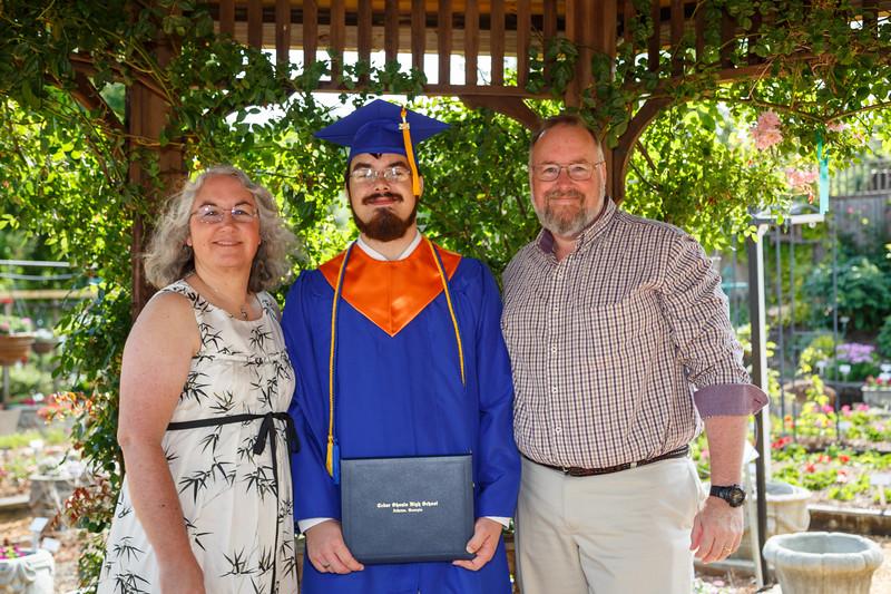 Wade, Mom and Dad