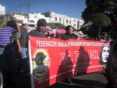 Sucre - Protests