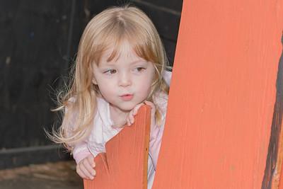 Aggie at Atlantic Nursery Halloween Display 10-22-20