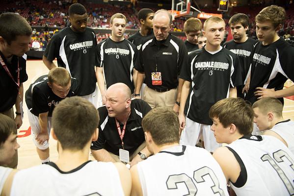 Maryland State 2A Basketball Semi-Finals, Edmondson West vs Oakdale