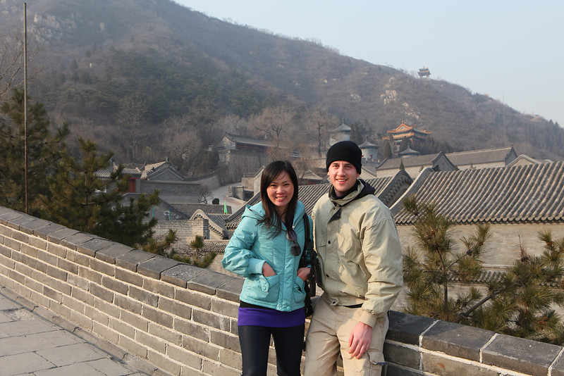 Igor and a girl in teal by Great Wall2.jpg