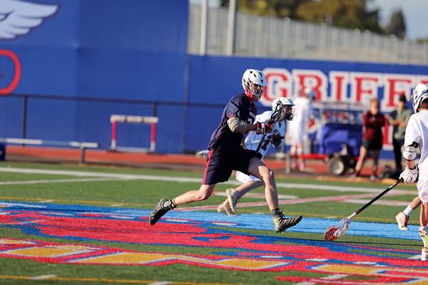 Beckman JV Lacrosse vs Los Alamitos 03.06.17