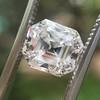 2.39ct Antique Asscher/Square Emerald Cut Diamond, GIA D/IF 8