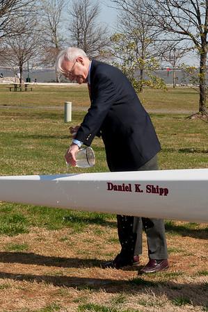 Daniel K. Shipp Boat Dedication 3.19.11