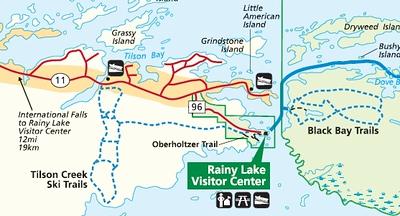 Voyageurs National Park (Rainy Lake Area)