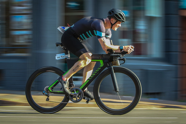 Cardiff Triathlon - Bike Leg - 300 Meters from Transition