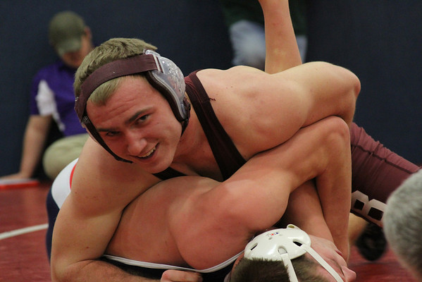 WWHS wrestling at winfield 2012-13