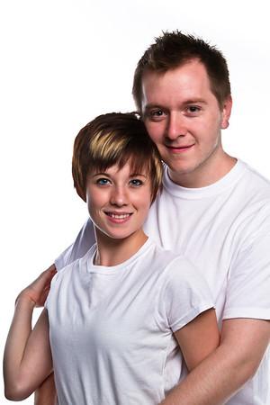 Sarah and Brett