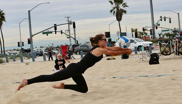 Mater Dei vs HB Girls Beach Volleyball Mar. 9, 2020
