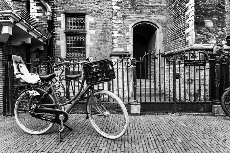 Outside the Grote of St.-Bavokerk