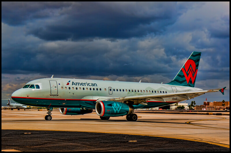 American Airlines - America West Livery - N838AW - w/border