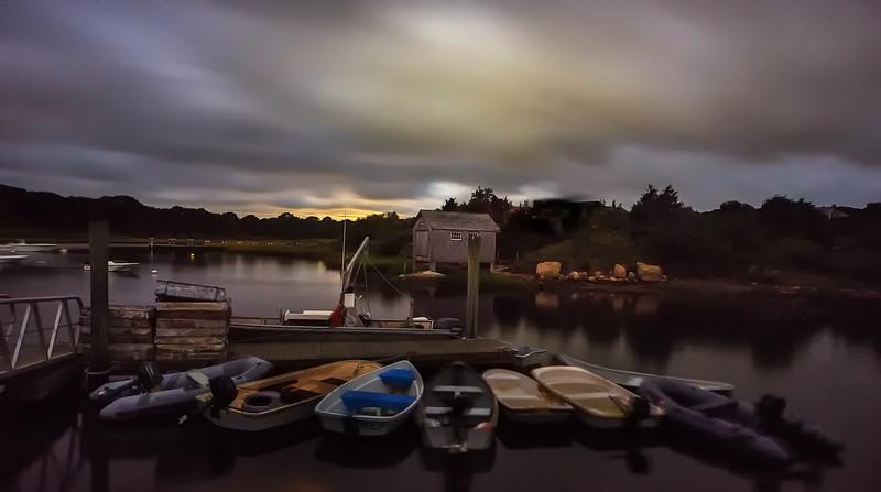 Chilmark Martha's VIneyard on a Cloudy Night