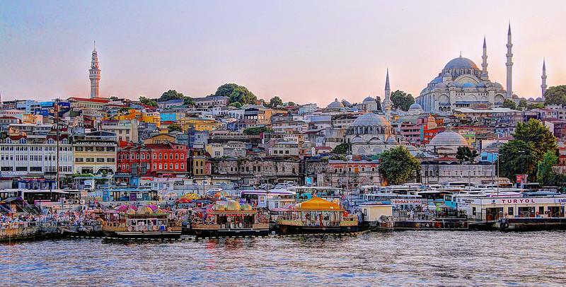 Istanbul from Galata Bridge